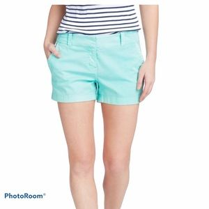 J.Crew Chino Mint Color Shorts Size 0